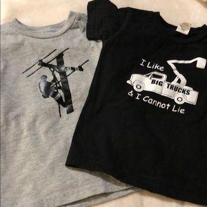 Two boys tshirts